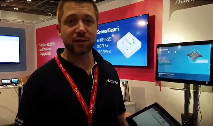 Postcard from BETT 2017 in London – ScreenBeam Brings Teachers Mobility for Better Student Engagement