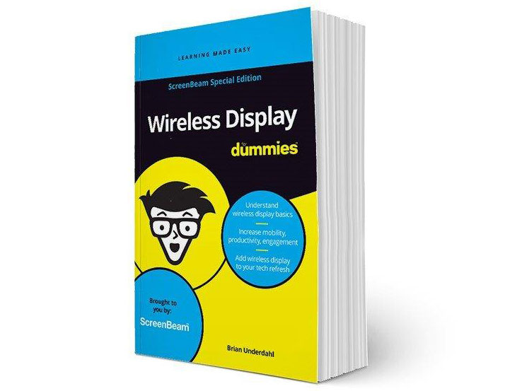 New eBook: Wireless Display For Dummies is here!
