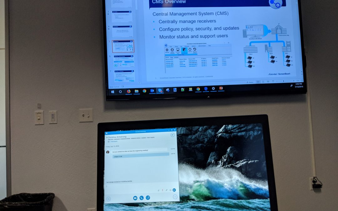 How to Extend Your Presentation with Wireless Display