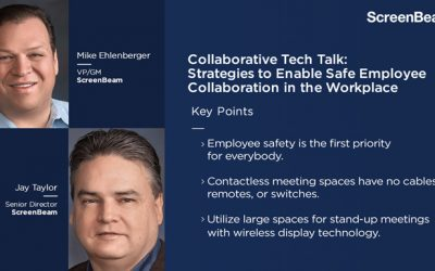 Collaborative Tech Talks: Strategies to Enable Safe Employee Collaboration in the Workplace