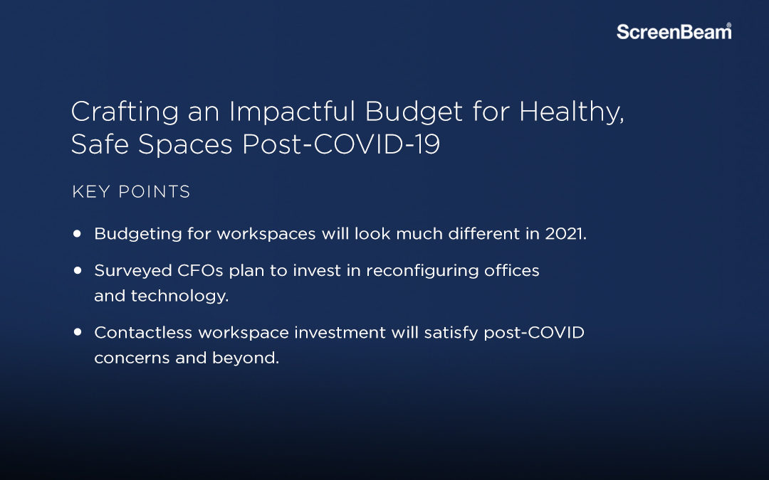 Crafting an Impactful Post-COVID Budget for Healthy, Safe Spaces