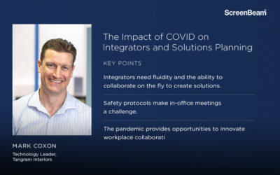 The Impact of COVID on Integrators and Solutions Planning