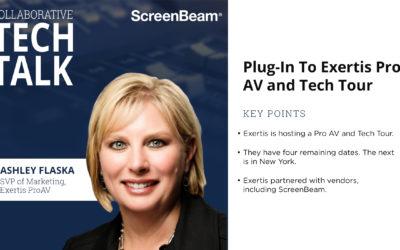 Plug-In To Exertis Pro AV and Tech Tour